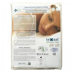 Housse anti-acariens Texaal® Coton pour matelas 1 personne
