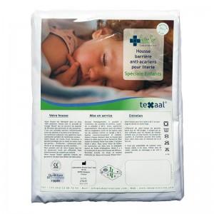 Housse anti-acariens Texaal® Polyester pour traversin