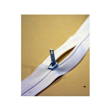 Fermeture à glissière pour housses anti acariens au mètre