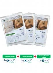Parure de housses anti-acariens Texaal® Coton pour literie 2 personnes