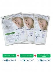 Parure de housses anti-acariens Noxaalon® en Evolon® pour literie 2 personnes